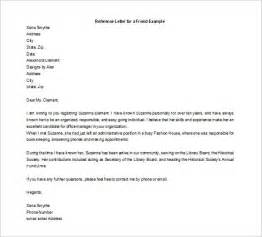 immigration reference letter for a family member cover