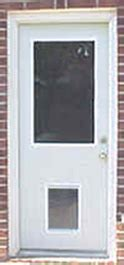 Exterior Doors With Doggie Doors Built In Exterior Door With Built In Pet Door Xpd50 Low Prices Plus Free Shipping