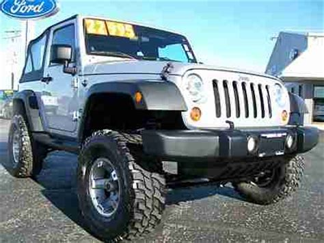 Best Tires For Jeep Wrangler Sport Find Used 2011 Jeep Wrangler Sport Factory Lifted Soft Top