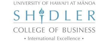 Global College International Mba by Global Mba At Shidler College Of Business