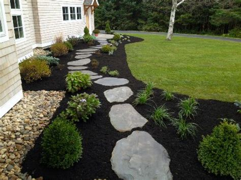 project idea add black mulch and or stone to spice up