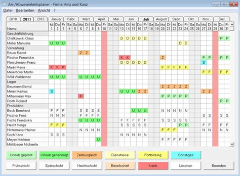 annual leave planner template search results for employee vacation schedule calendar