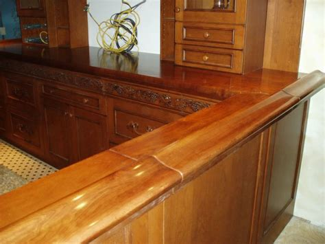 Best Bar Top Finish by 17 Best Images About Wood Bar Tops On Wide