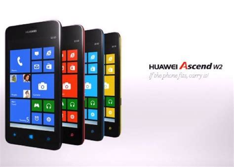 Hp Huawei Ascend W2 huawei ascend w2 release at affordable price phonesreviews uk mobiles apps networks