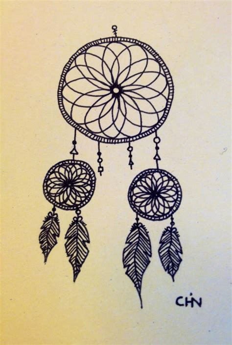 dreamcatcher tattoo tumblr dreamcatcher drawing on