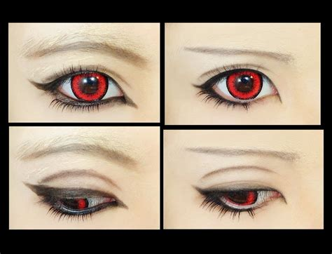 tutorial makeup cosplay male how to makeup fix 2 male anime eye youtube