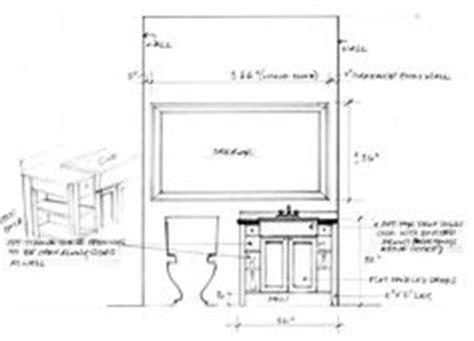 Bathroom Cupboard Crossword Basic Shop Drawing For Simple Bath Vanity Cabinet Showing
