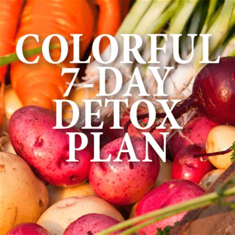 7 Day Plant Based Detox by Dr Oz Whole Food Detox Plant Based Five Color Seven