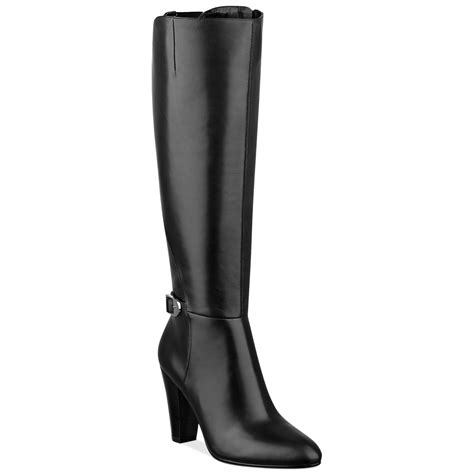 marc fisher boots marc fisher shayna dress boots in black lyst