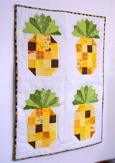 Pineapple Patchwork Pattern - 156 best images about fruit vegetable quilts on
