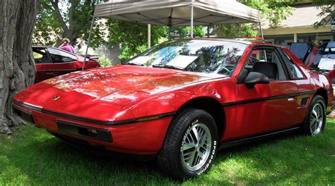 1984 pontiac fiero 1984 pontiac fiero exterior pictures cargurus