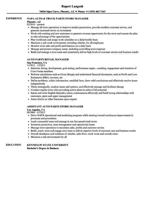 Parts Manager Resume by Parts Manager Resume Resume Ideas