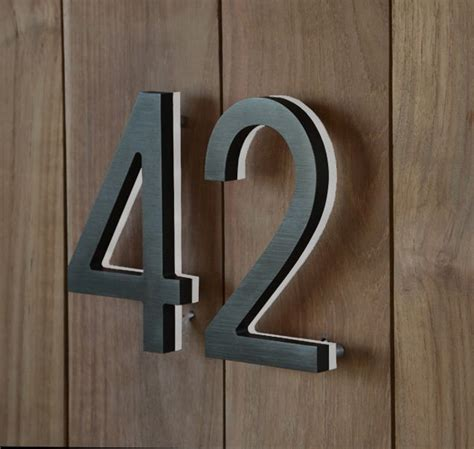 design house numbers uk the 25 best house numbers modern ideas on pinterest