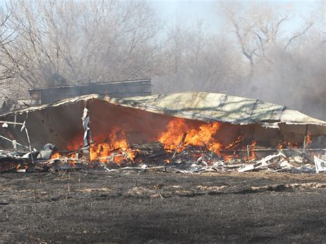 mobile homes destroyed by northwest of plaine y