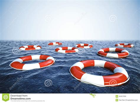 boat safety buoy buoys round lifesaver stacked for boat safety royalty free