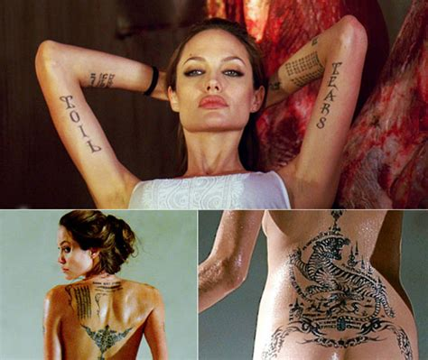 angelina jolie binary tattoo 1000 images about tattoos on pinterest lower backs