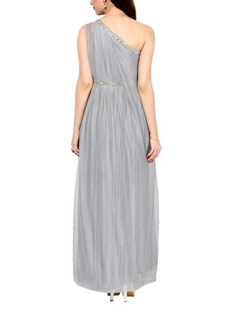 Jumpsuit Platinum Printing house of trove smokey platinum shoulder gown shop