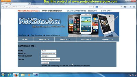www online mobile shopping com online mobile shopping website project asp net with c