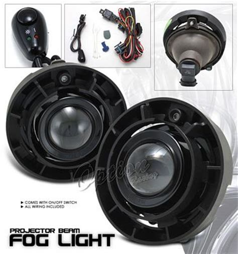 Chevy Colorado 2004 2008 Clear Projector Fog Lights Kit