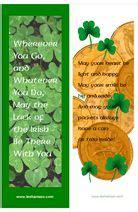 printable irish bookmarks 21 best images about saint pats day on pinterest irish