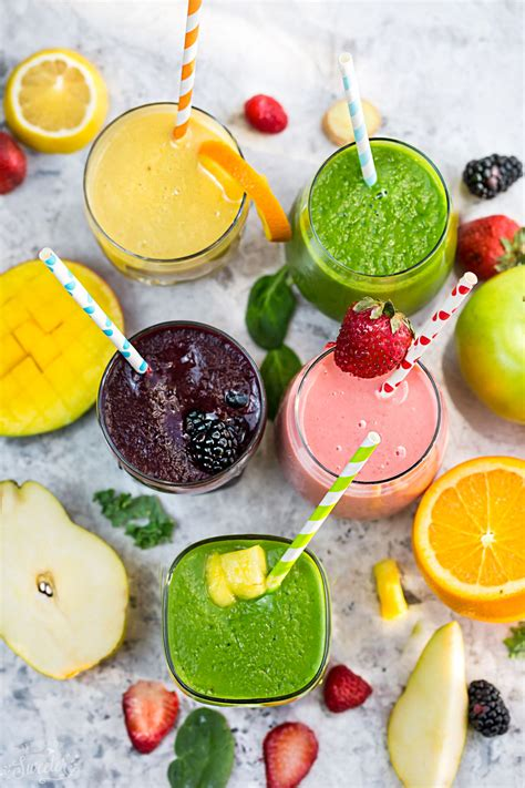 What To Eat After A Smoothie Detox by 5 Healthy Delicious Detox Smoothies Made