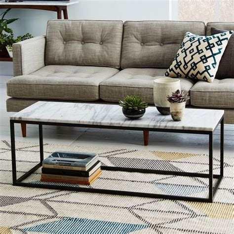 3 coffee table hacks west elm small space living