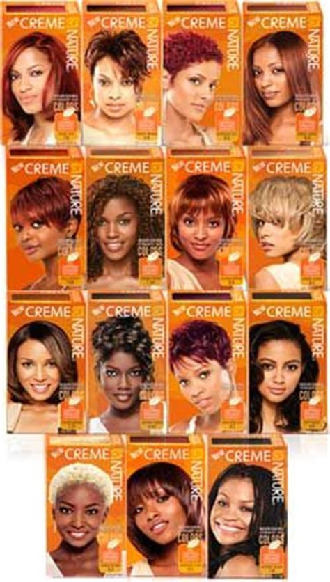 creme of nature hair color chart creme of nature hair colors hair