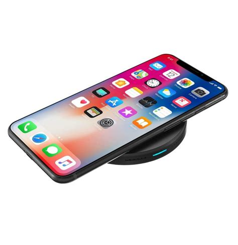 qi wireless fast charging 9v desktop charger pad for smsung s8 iphone 8 x plus