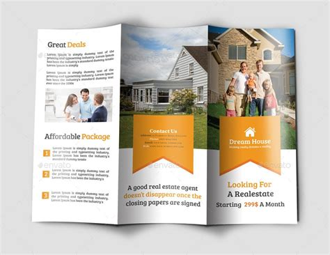 House Brochure Template by Top 29 Real Estate Brochure Templates To Impress Your Clients