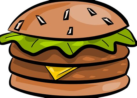 hamburger clipart the totally free clip food hamburger cliparts co