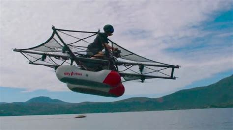 Single Car Garage Plans flying car kitty hawk s first prototype looks more like a