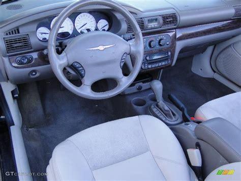 2006 Chrysler Sebring Interior by Light Taupe Interior 2006 Chrysler Sebring Limited