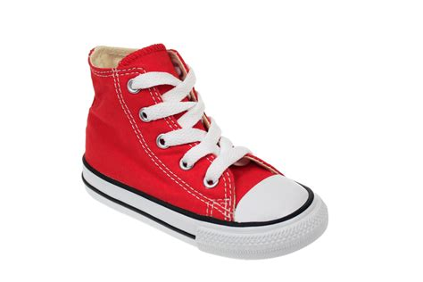 converse shoes size 1 converse hi toddler infant canvas trainers