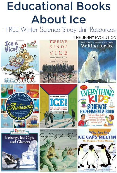 educational picture books educational books about for winter science study