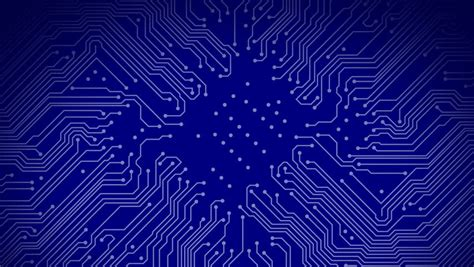 circuit board background protium design animated printed circuit board background stock footage