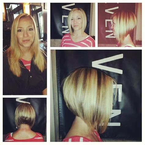 before and after graduated bob haircuts pinterest the world s catalog of ideas