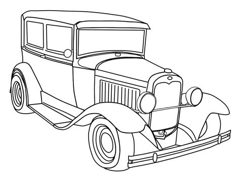 free printable coloring pages of cars for adults car coloring pages free download
