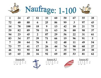 printable list of french numbers 1 100 french numbers 1 100 activity naufrage by world language