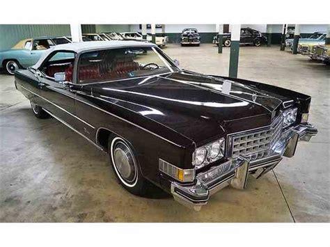 1973 Cadillac Fleetwood by 1973 Cadillac Eldorado For Sale Classiccars Cc 158256