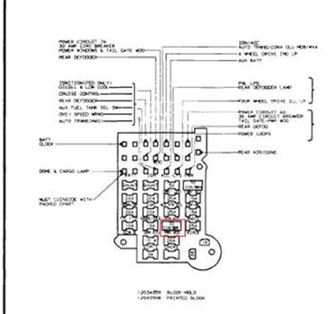 Power Window Lock Wiring Gm Square Body 1973 1987
