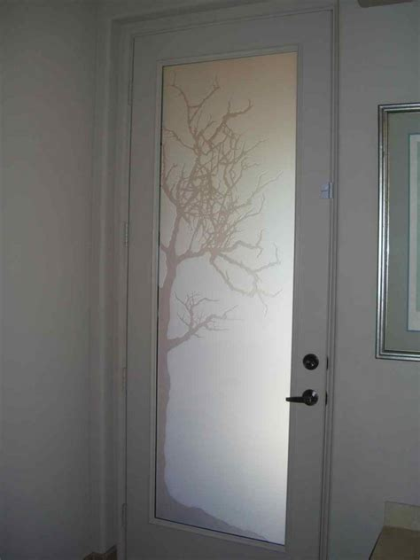 frosted glass in bathroom glass door sans soucie art glass