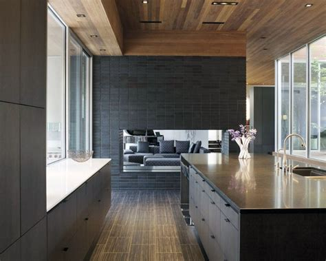 home interior architecture 2013 mutfaktan salona pencere modeli havuzlu modern villa