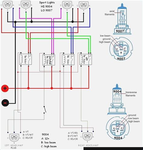 headlight wire diagram wiring diagram