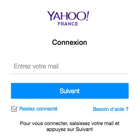 email yahoo fr mail yahoo fr yahoo mail france ouverture de session
