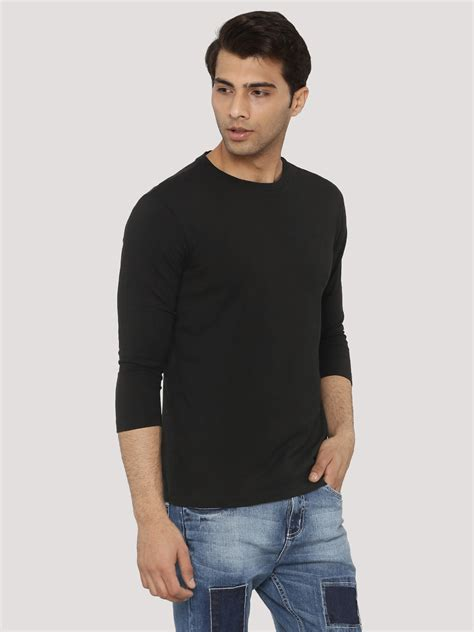 3 4 Sleeve Fit T Shirt buy koovs 3 4 sleeve fit t shirt for s