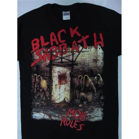 black sabbath the mob black sabbath mob t shirt