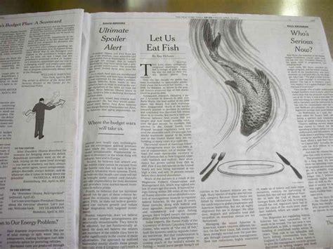 nyt business section ny times op ed sustainable fish yuko shimizu