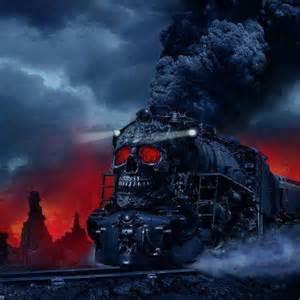 evil train by san666 on deviantart