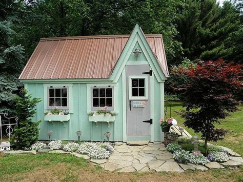 Garden Building Ideas 10 Ideas To Style Your Garden Shed