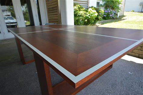 wood pong table philippine mahogany ping pong table simmons custom